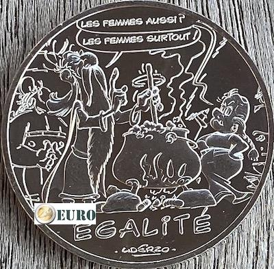 10 euro Frankrijk 2015 - Asterix égalité De ziener