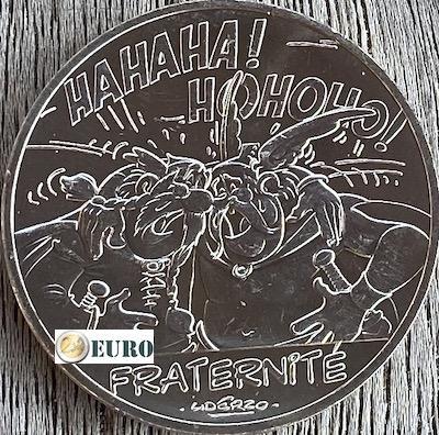 10 euro Frankrijk 2015 - Asterix fraternité en de Belgen