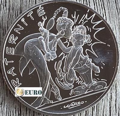 10 euro Frankrijk 2015 - Asterix fraternité en Latraviata