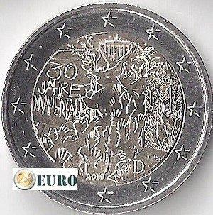 2 euro Duitsland 2019 - G Berlijnse Muur UNC