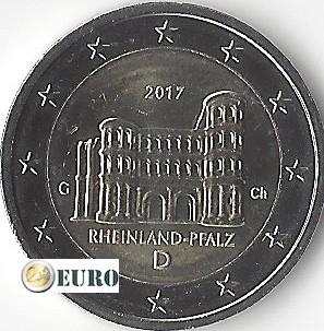 2 euro Duitsland 2017 - G Rheinland-Pfalz UNC