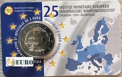 2 euro België 2019 - 25 jaar EMI BU FDC Coincard FR