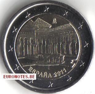 Spanje 2011 - 2 euro Leeuwenhof UNESCO UNC