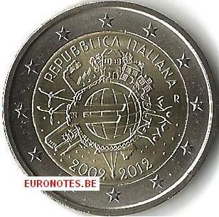 Italië 2012 - 2 euro 10 jaar euro UNC