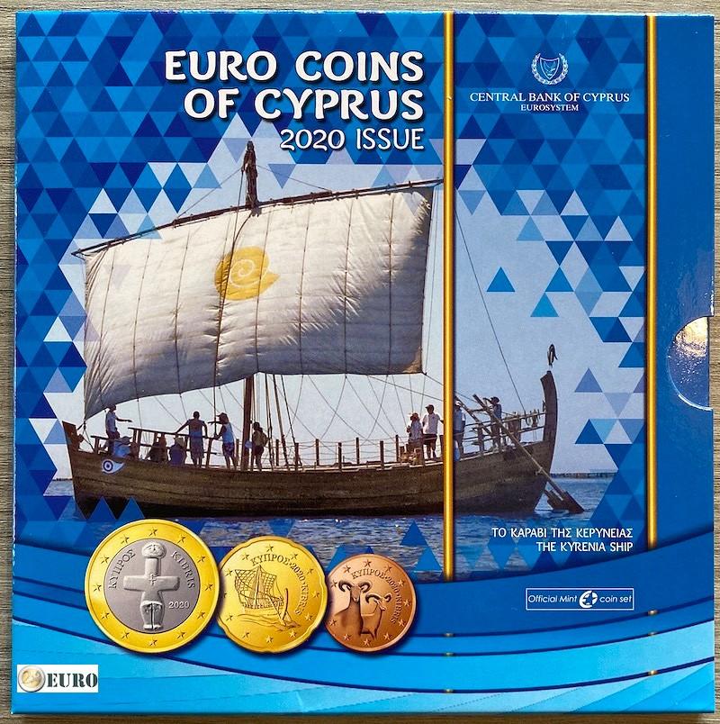 Euro set BU FDC Cyprus 2020 Kyrenia