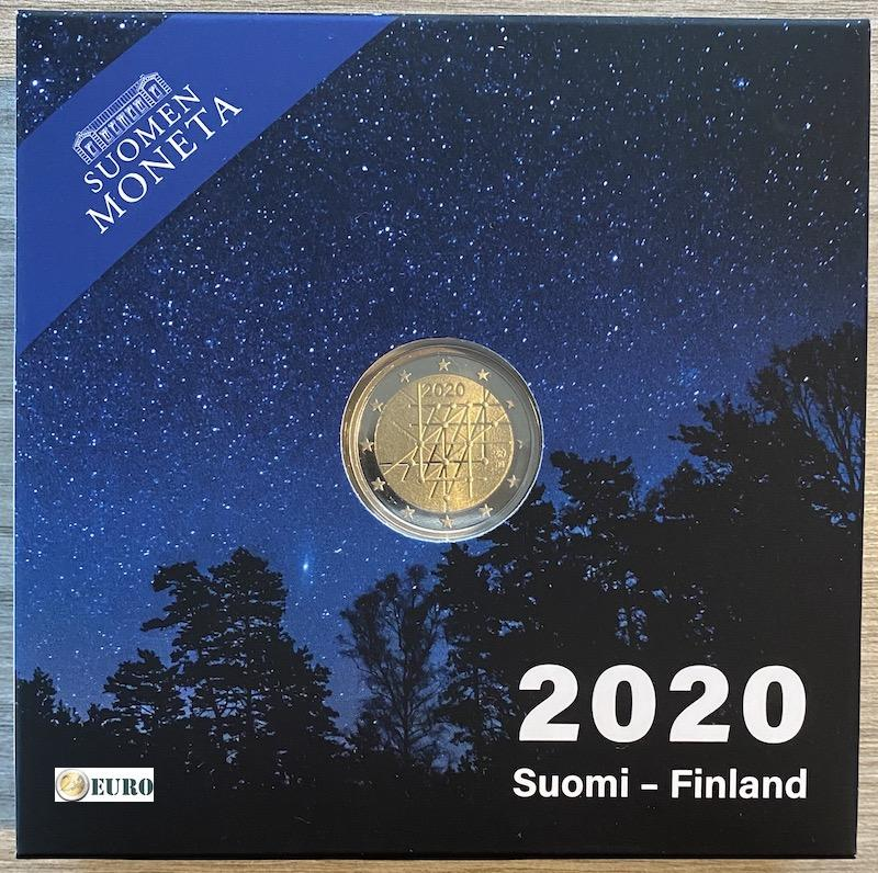 2 euro Finland 2020 - Universiteit Turku BE Proof