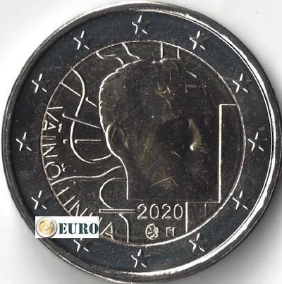 2 euro Finland 2020 - Vaino Linna UNC
