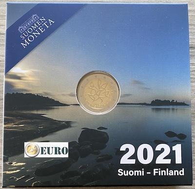 2 euro Finland 2021 - Journalistiek BE Proof