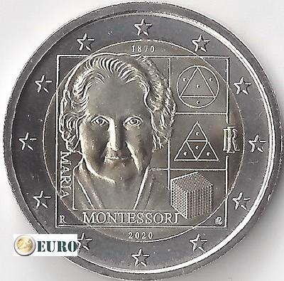 2 euro Italie 2020 - 150 jaar Maria Montessori UNC