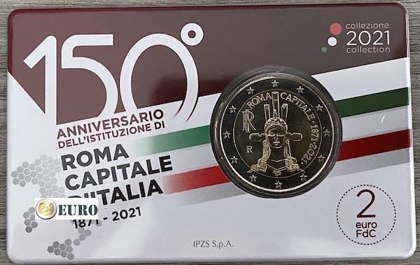 2 euro Vaticaan 2019 - 90 jaar Vaticaanstad BU FDC Numisbrief