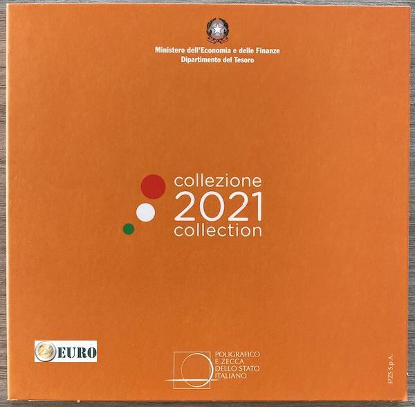 Euro set BU FDC Italie 2021
