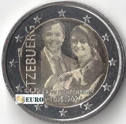 2 euro Luxemburg 2020 - Geboorte Karel van Luxemburg UNC foto