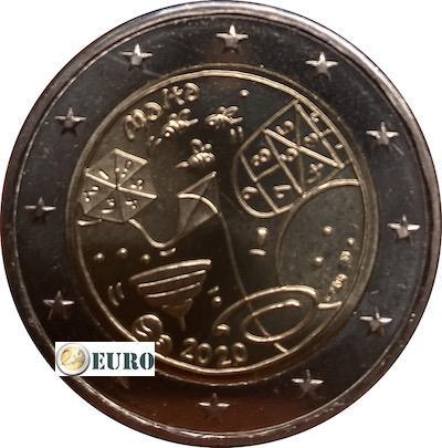 2 euro Malta 2020 - Spelletjes UNC muntstempel MdP