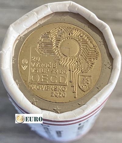 Rol 2 euro Slowakije 2020 - Toetreding tot OESO