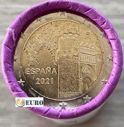 Rol 2 euro Spanje 2021 - Oude stad Toledo