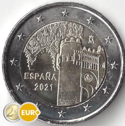 2 euro Spanje 2021 - Oude stad Toledo UNC
