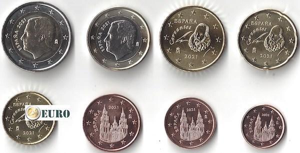 Euro set UNC Spanje 2021