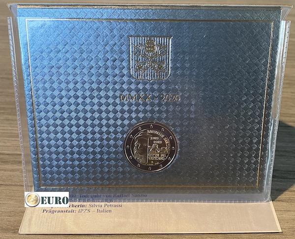 2 euro Vaticaan 2020 - Raffaello BU FDC
