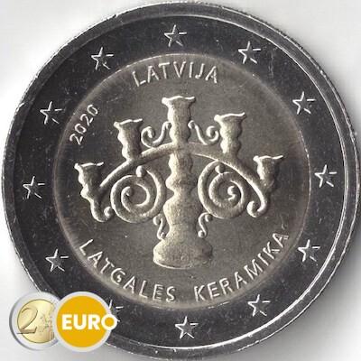 2 euro Letland 2020 - Lets Keramiek UNC