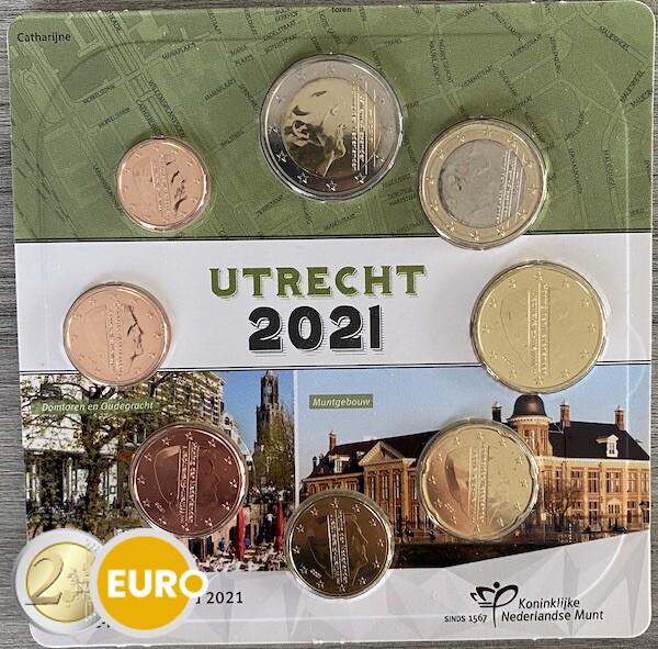 Euro set UNC Nederland 2021 Utrecht
